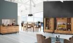 Yıldız Mobilya / Dizayn Ceviz Yemek Odası