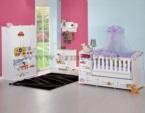 ERMODA Modüler Mobilya / Mercan Cars Baskılı Bebek-Genç Odası KARGO ÜCRETSİZ