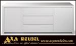 .AXA WOISS Meubelen / modern parlak beyaz lake yemek odası takımı 66 5025