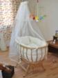 bebekonfor bebek beşikleri / Bebekonfor Dora Naturel İtalyan Style Bebek Besik