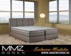 MMZ WONEN / modern karyola yayli yatak super kalite baza - italyan design gri
