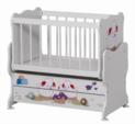 Cicila Bebe Genç Mobilyaları / MİDİ BEBEK KARYOLASI 50X85 KUZULU