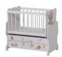 Cicila Bebe Genç Mobilyaları / MİDİ BEBEK KARYOLASI 50X85 LEYLEKLİ