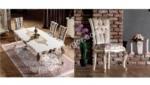 Mobilyalar / Tetsu Klasik Yemek Odası Takımı
