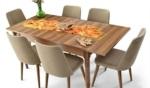 Yıldız Mobilya / Dizayn Modern Yemek Masası