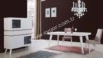 Mobilyalar / Akçam Beyaz Lake Yemek Odası