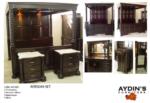 Aydins Furniture / Direkli Tavanı Aynalı Yatak odası
