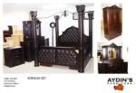 Aydins Furniture / Direkli ve Ferforjeli Yatak odası