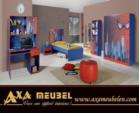 .AXA WOISS Meubelen / Örümcek Adam Temalı Genç çocuk odası  34 7841