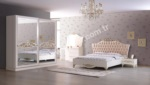 Mobilyalar / Vanili Avangarde Yatak Odası