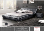 Royal Meubel & Bedden & Boxsprings / mcda89black modern yatak