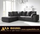 .AXA WOISS Meubelen / rahat şık ve konforlu kumaş köşe koltuk şezlong