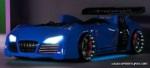 www.speedylifes.com / Audi v8 Arabalı Yatak Mavi