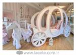 www.lacote.com.tr / prenses araba yatak çocuk ve bebek odası