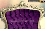 Poliüretan yatak başlıkları / Tek kişilik yatak başlığı klasik tasarım Guetta Junior