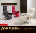 .AXA WOISS Meubelen / Hem şık hem de birçok özelliğe sahip fonksiyonel relax koltuk