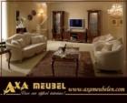 .AXA WOISS Meubelen / klasik fındık rengi italyan tarzı duvar ünitesi  4 4698
