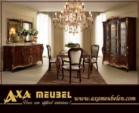 .AXA WOISS Meubelen / klasik fındık rengi italyan tarzı yemek odası takımı 4 4698