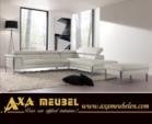 .AXA WOISS Meubelen / çok şık ve modern kumaş / deri Köşe takımı 24 7228