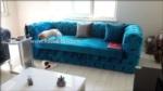 Koc Koltuk & mobilya / Yuksek berjelli Parlak Kadife chester koltuk takimi