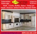 UsKardesler ithalat ihracat Ltd.Sti UsAnTe / Ahşap elegans klasik Country Mutfak Kapak ve  Tamamlayıcı Parçaları