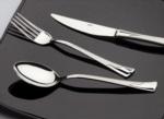 Alkapıda.com / Nehir Kapris Saten 12 Parça Yemek Çatal Kaşık Takımı