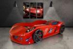 jaguar model arabalı yatak