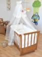 bebekonfor bebek beşikleri / Bebekonfor Kayra Ceviz Fransız Collection Bebek Besik