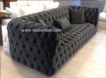 Koc Koltuk & mobilya / Siyah Chester Koltuk