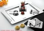 Alkapıda.com / Nehir Büşra Sade 28 Parça Çay Seti  Bardaksız