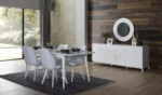 Yıldız Mobilya / Almoda Beyaz Yemek Odası