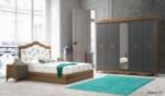 Yildiz Mobilya Beyoğlu Country Yatak Odası - Yıldız Mobilya