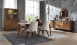Yıldız Mobilya / Almoda Ceviz Yemek Odası