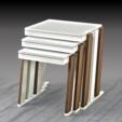 Boran Furniture Export / Asel Zigon Sehpa/ Asel Nesting Table