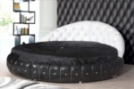 ,,,,A.EUROstar möbel / siyah beyaz oval yatak