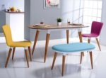 Özüçler Mobilya / Bari Renkli Mutfak Masa Takımı