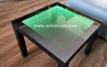 AZM DİZAYN / Sehpa (infinity mirror table) sonsuz led ışıklı sehpalar