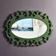 Özüçler Mobilya / Buse Dekoratif Duvar Aynası renk seçenekli(beyaz-yeşil)