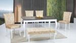 EvseBu Home & Living / Gold Masa Sandalye Takımı