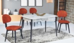 EvseBu Home & Living / Anka Masa Sandalye Takımı