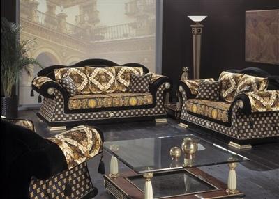 euroelit m bel seintropez versace. Black Bedroom Furniture Sets. Home Design Ideas