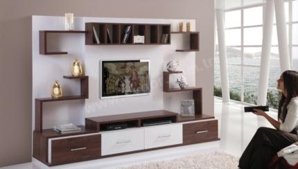 Modern Capitol Tv Ünitesi Capitol Modern Tv Ünitesi Takımı E1 Standartlarına Uygun Suntalemden Oluşmaktadır. Ürünün Siyah&Beyaz renk seçeneği de mevcuttur.